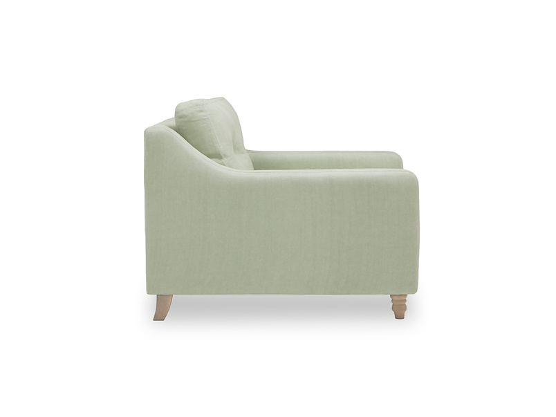 Slim Jim comfy love seat