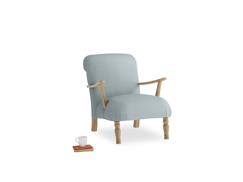 Armchair Brew Armchair in Quail's egg clever linen