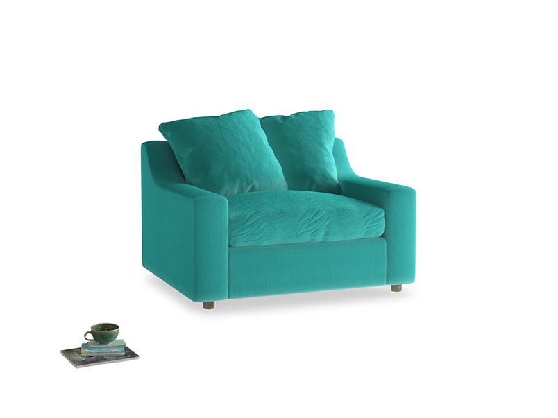 Love Seat Sofa Bed Cloud love seat sofa bed in Fiji Clever Velvet