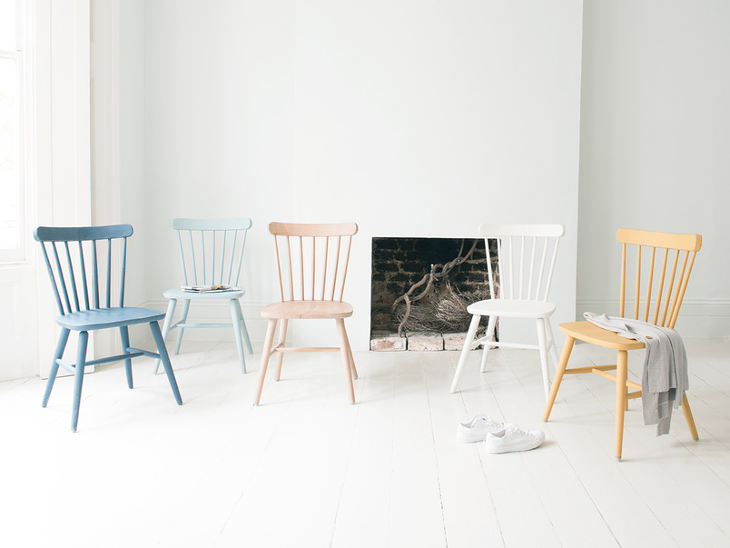 The full Natterbox kitchen chair collection