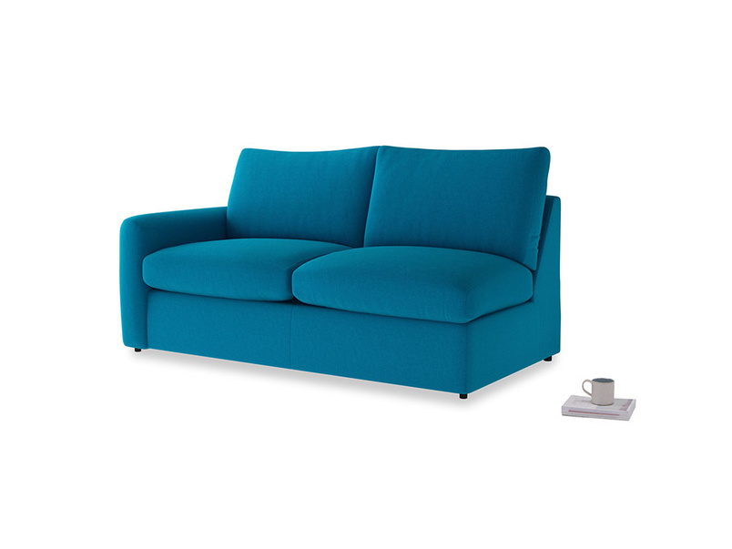 Chatnap Storage Sofa in Bermuda Brushed Cotton with a left arm