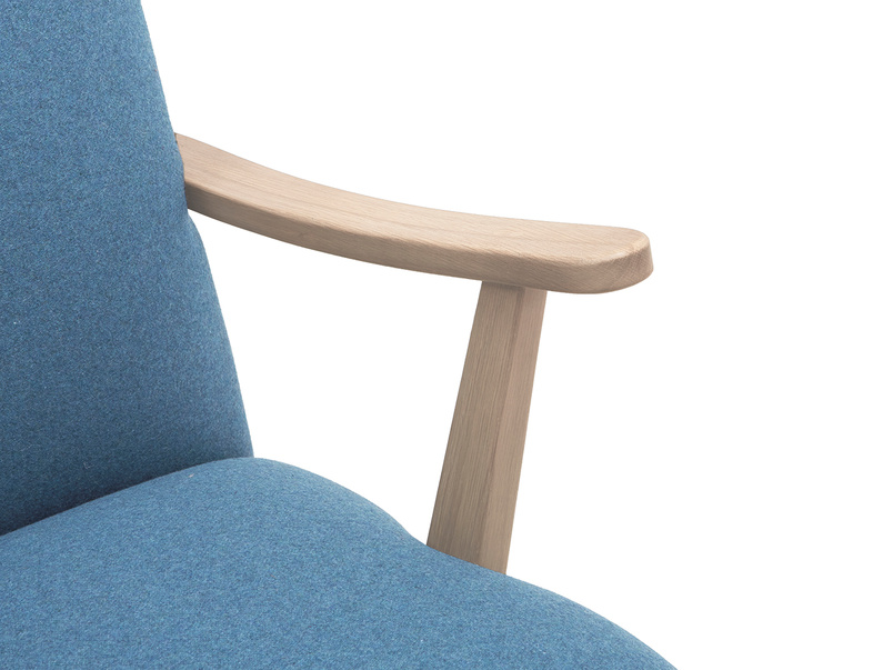 Brew upholstered armchair