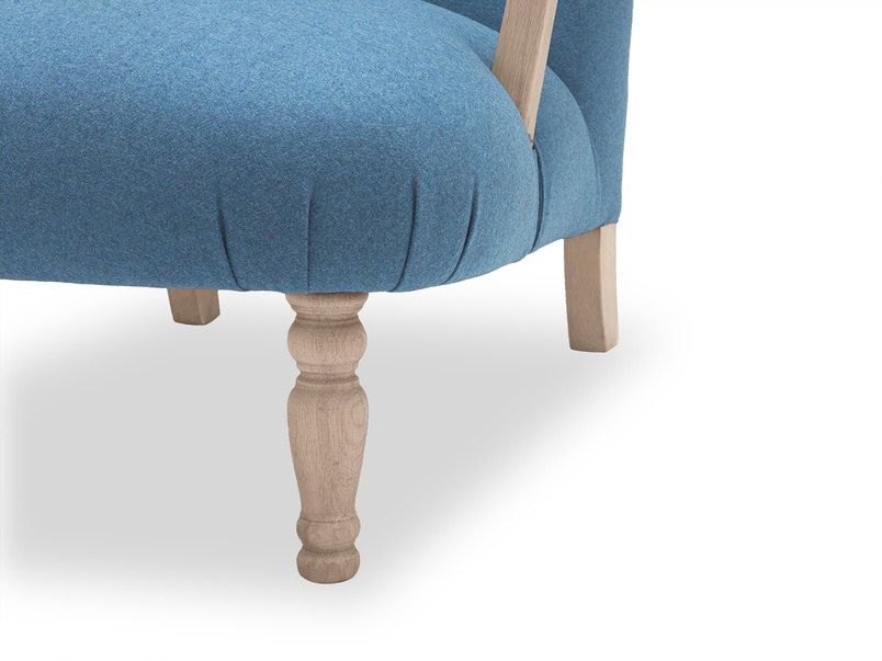 Brew upholstered occasional armchair