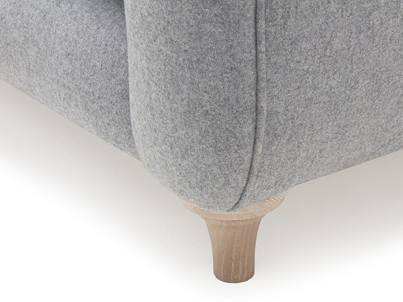 Bumpster modern comfy love seat