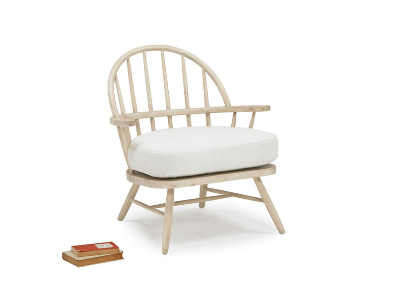 Burbler wooden occasional chair