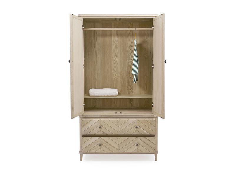 Super Flapper wooden wardrobe