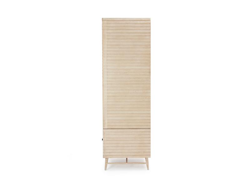Prime Groover wooden wardrobe in bleached oak