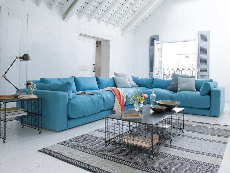 Modern style luxury British made Atticus corner sofa