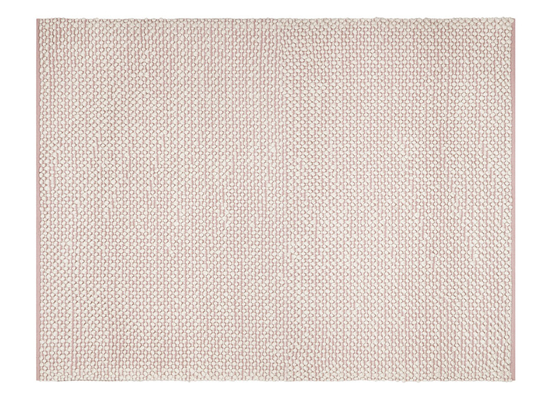 Bobble floor rug in Pink
