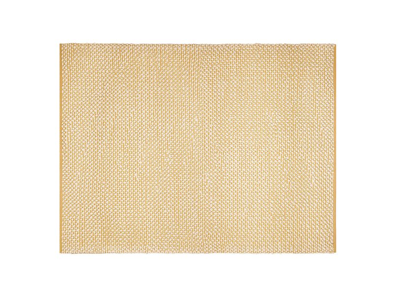 Large Bobble In Burnt Yellow rug