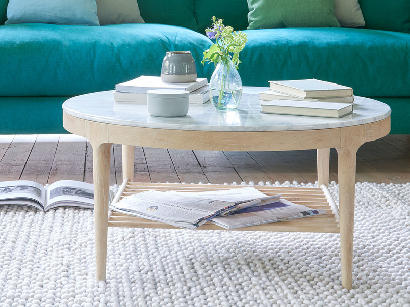 Marmo marble top coffee table