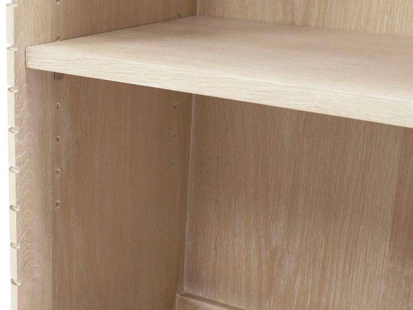 Little Bubba blonde oak wooden shelves
