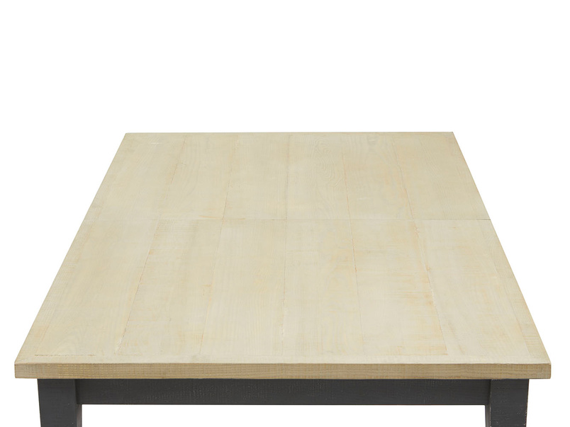 Kernel bandsawn oak dining room table