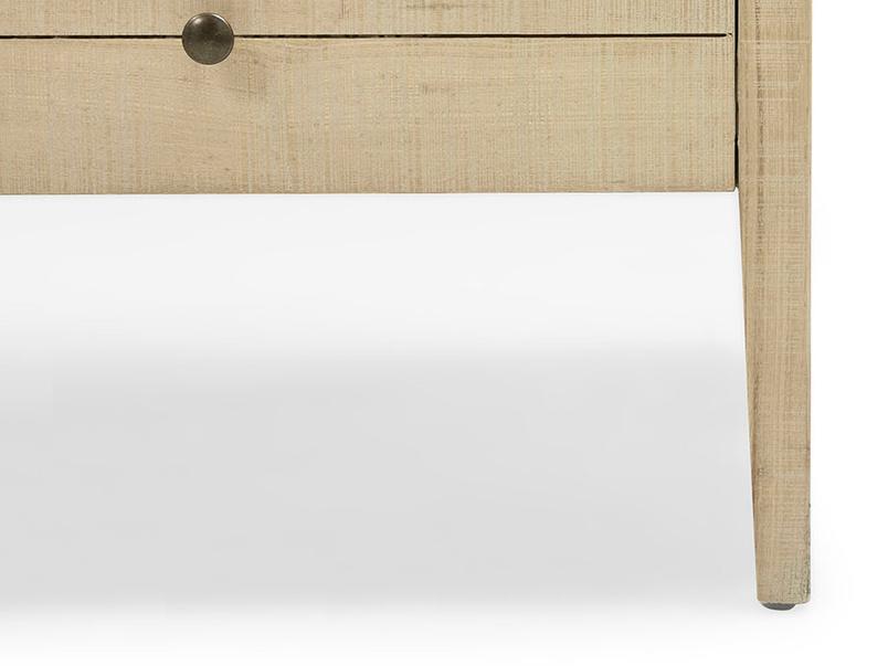Grand Kanoodle wooden sideboard front leg detail