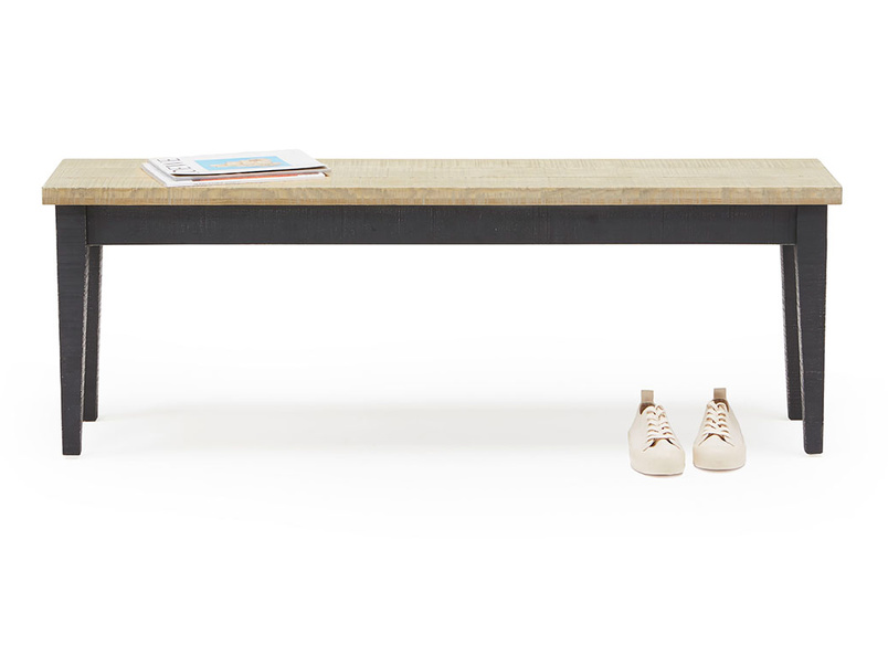 Chittlewag wooden dining room bench