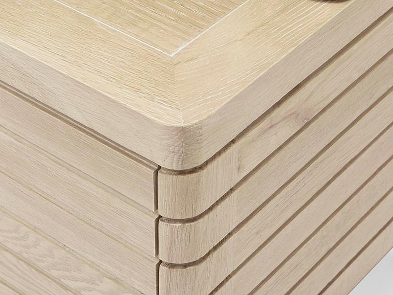 Big Bubba wooden modular shelves corner detail
