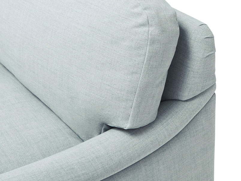 Jonesy handmade sofa bed back detail