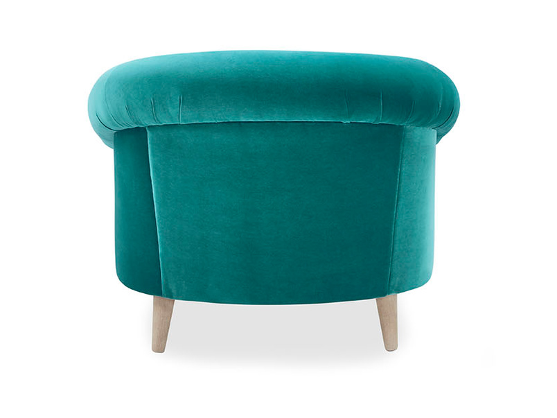 Schnaps bucket love seat back detail