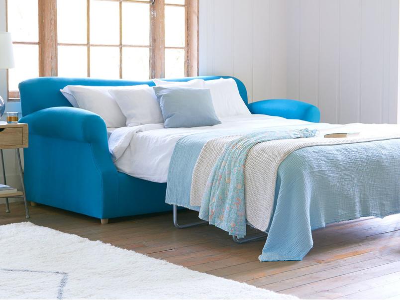 Crumpet comfy upholstered sofa bed