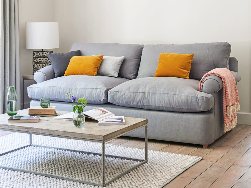 Slowcoach upholstered sofa bed