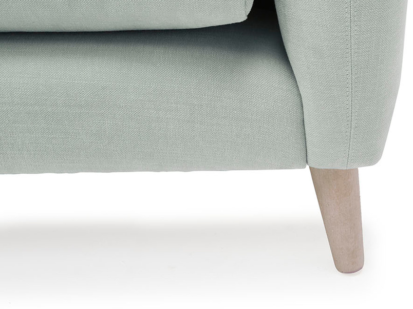 Squishmeister love seat contemporary leg detail