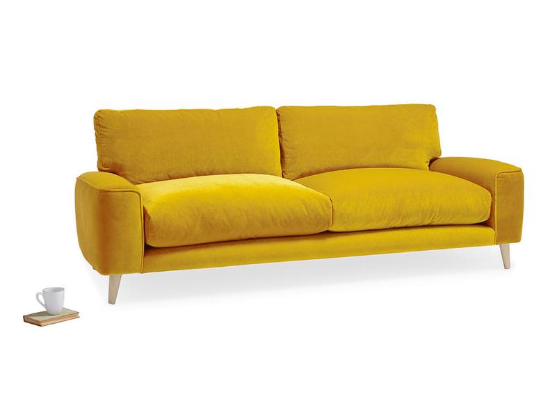 Strudel upholstered comfy sofa