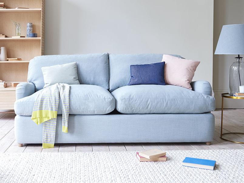 Jonesy low arm comfy sofa bed