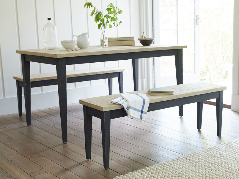 Chittlewag wooden kitchen dining bench