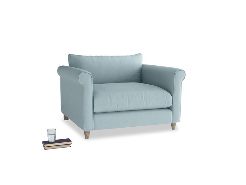 Love Seat Weekender Love seat in Powder Blue Clever Softie
