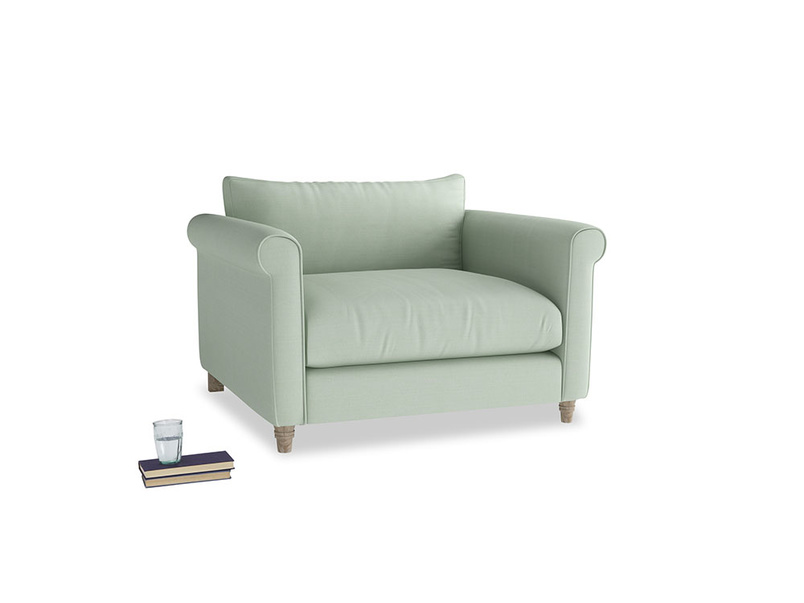 Love Seat Weekender Love seat in Soft Green Clever Softie