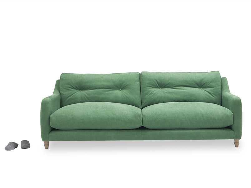 Slim Jim comfy button back sofa
