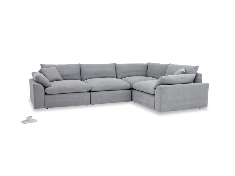 Cuddle Muffin sectional large corner sofa