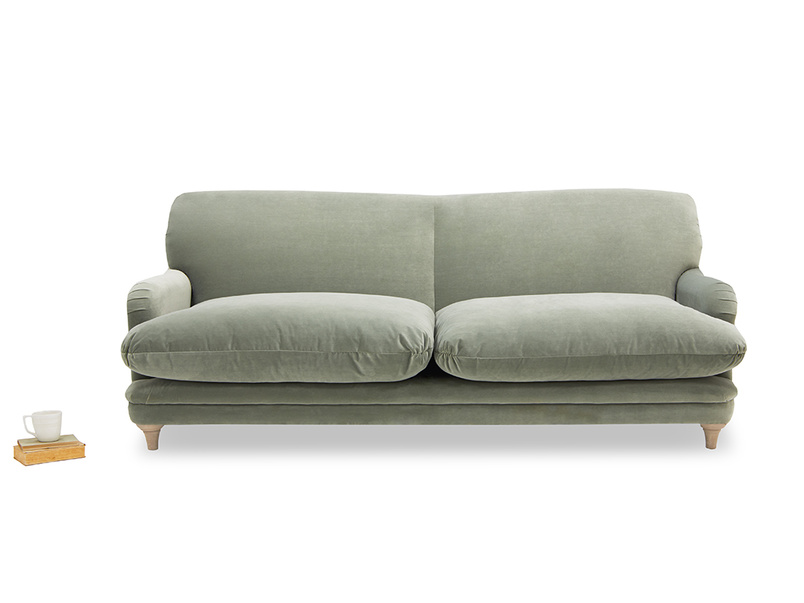 Pudding upholstered sofa