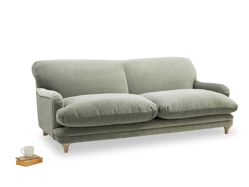 Pudding sofa handmade in England