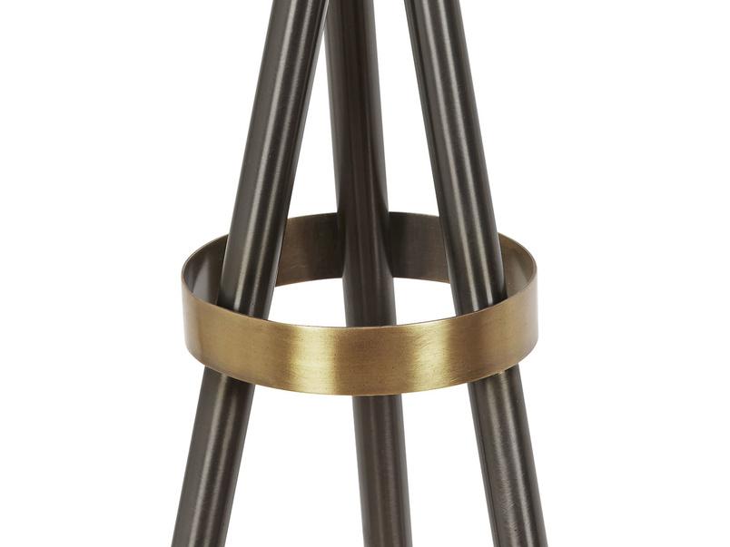 Hat Trick floor lamp tripod detail