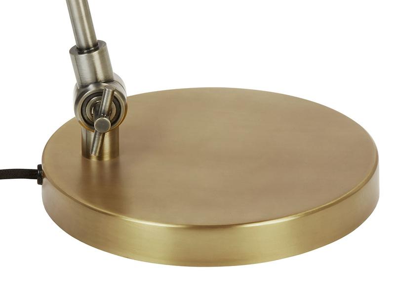 Biblio brass table lamp base detail
