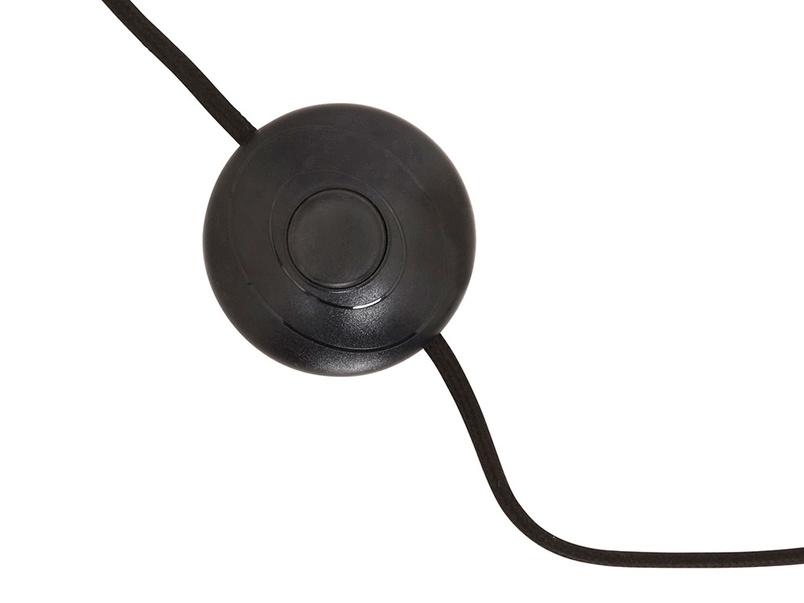 Hat Trick floor lamp switch detail