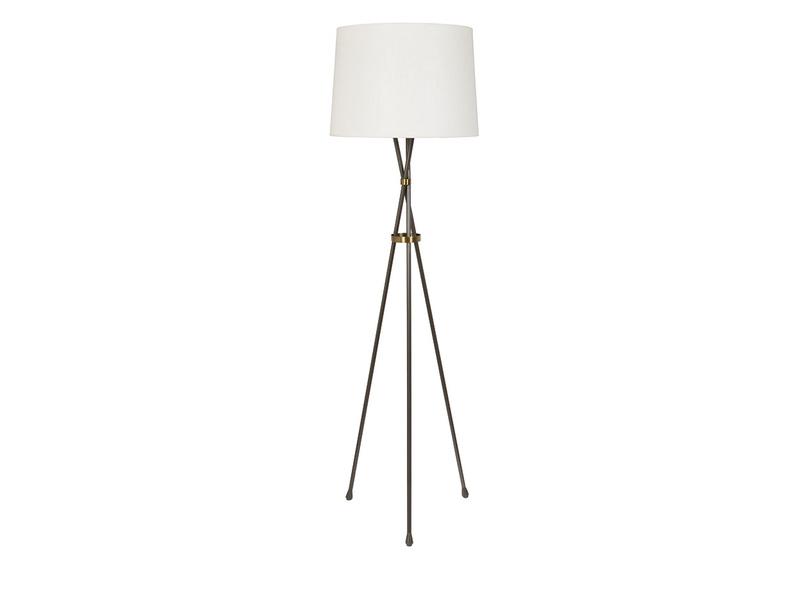 Hat Trick industrial style tripod floor lamp