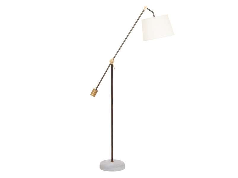 Beautiful Bruges contemporary floor lamp