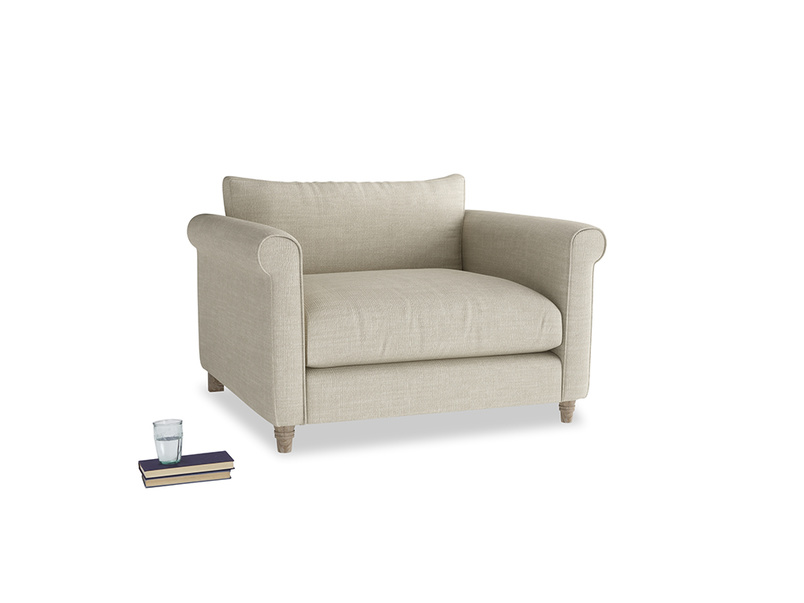 Love Seat Weekender Love seat in Shell Clever Laundered Linen