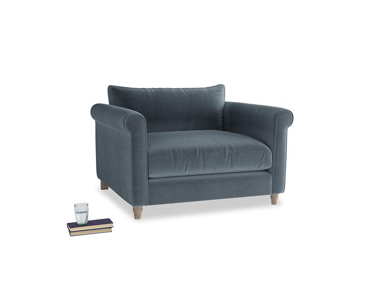 Love Seat Weekender Love seat in Odyssey Clever Deep Velvet