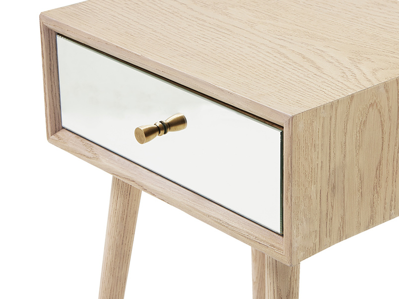 Little Trixie mirrored furniture side table