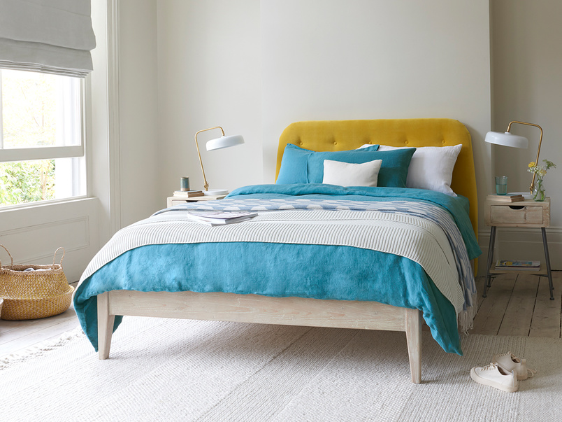 First Base wooden bed frame