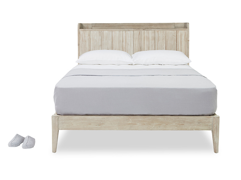 First Base reclaim wood bed frame