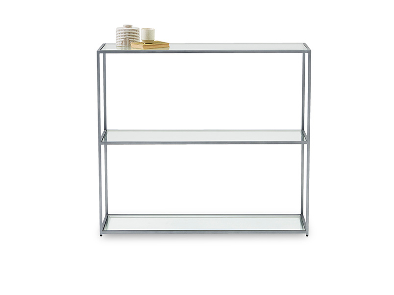 Low Wolfie glass shelf