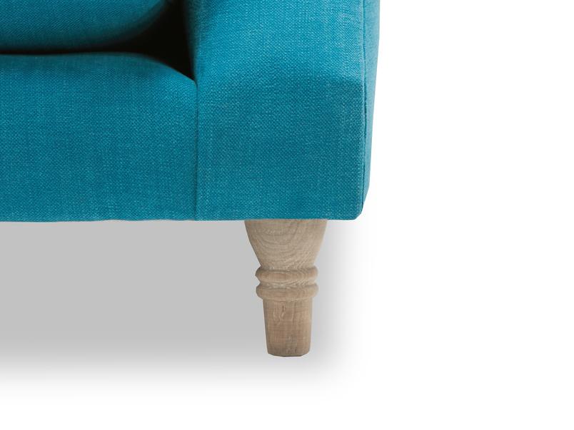 Crumpet sofa - leg detail