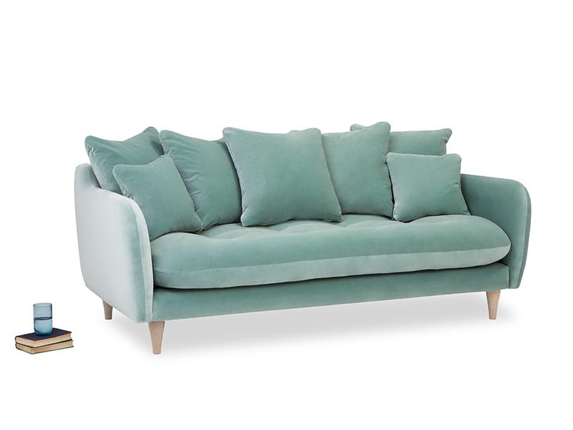 Skinny Minny upholstered handmade comfy sofa