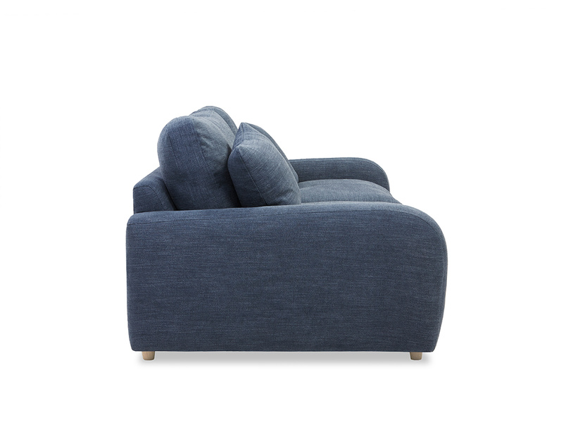 Easy squeeze sofa side detail