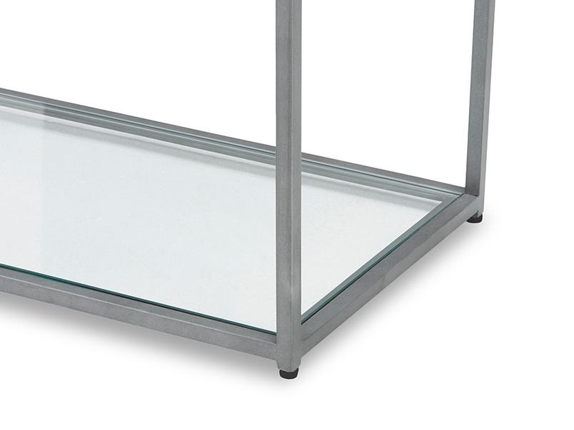 Tall Wolfie glass shelf