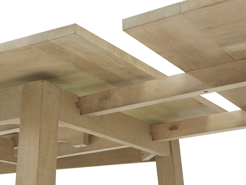 Country Mile kitchen table underside detail